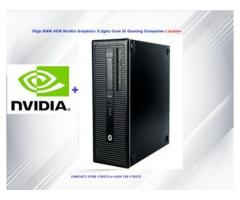 Core i5 Refurbished Lenovo PC with 4GB Nvidia Graphics
