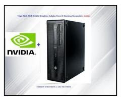 Refurbished Computer Core i5 with 4GB Graphics Card