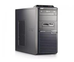 Refurbished core 2 Duo desktop with 3 free games