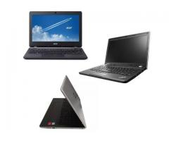 Refurbished ex UK and Used Laptops with 3 free games
