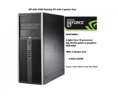 HP elite 8300 Gaming Computer with 3 games free