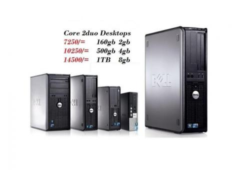 SIMPLE DESKTOP Core 2 duo processor or Duo Core