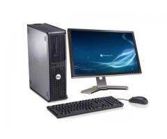Complete Gaming Core 2 duo Desktop with 19inch TFT