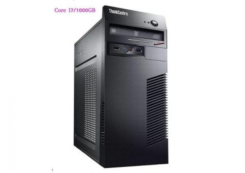 EX-UK Core i7 CPU only Desktop with 3 Games free