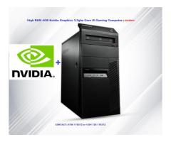 16gb RAM 4GB Nvidia Graphics Refurbished Lenovo PC