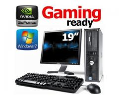 Desktop Core 2 duo PC Complete with 19 inch TFT Screen