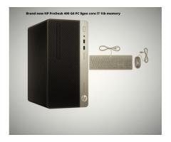 Brand new HP ProDesk 400 G6 PC Core i7 4gb RAM