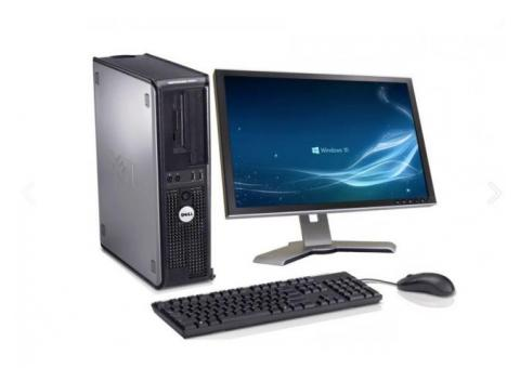Core 2 duo Simple Desktop with 19 inch TFT Screen